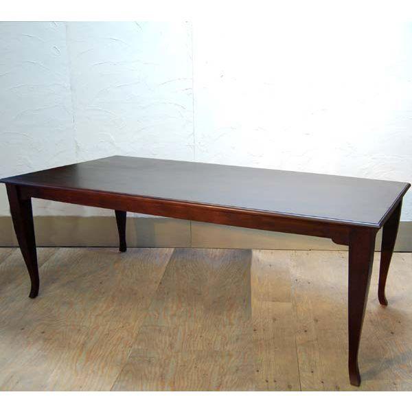 ダイニングテーブル チークウッド無垢材