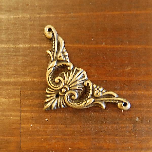 真鍮角飾り 飾り ブラス Brass 真鍮装飾 金具