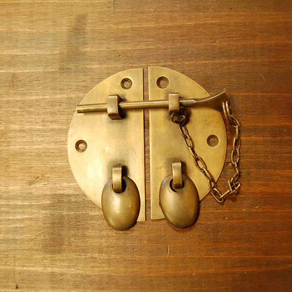 真鍮錠前 留め金具 扉 金具